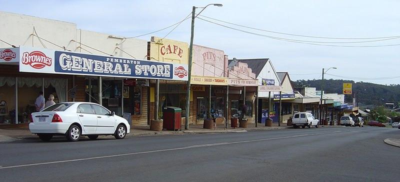 Pemberton_WA_Main_street