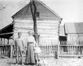 Silas and Cynthia Pemberton 1876
