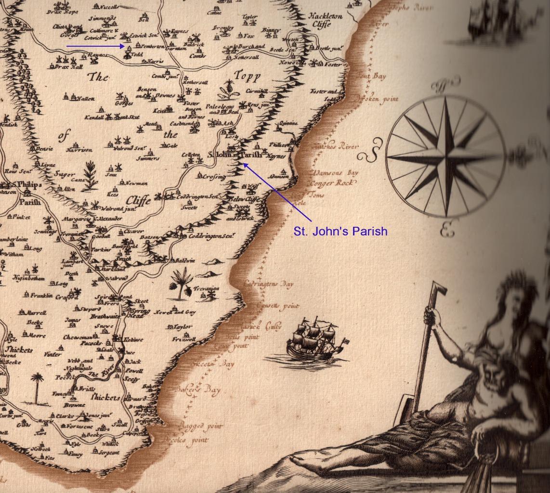 mapOfBarbados1800